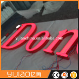 2017 Customized Portable Outdoor 3D Acrylic Letters Advertizing Display LED Sign