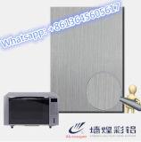 Plaque de feuille d'acier inoxydable de délié de l'argent 304 pour des pièces de four microondes