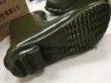 Ботинки дождя безопасности 100% резиновый с стальной плитой