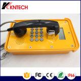 Pantalla LCD Teléfono Industrial de intercomunicación IP teléfono impermeable