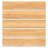 azulejo de suelo de cerámica esmaltado madera rústica de Matt del material de construcción de 150*800m m