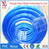 Aucune odeur colorée en PVC de qualité alimentaire du tuyau flexible tressé en fibre