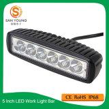 lumière de travail de 18W Epistar DEL pour la lumière fonctionnante d'automobile de la lumière de regain de camion DEL