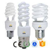 Media lámpara ahorro de energía del espiral CFL con el Ce RoHS certificado
