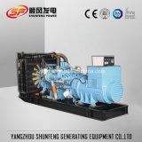 Resfriada 1470Kw de potência eléctrica Mtu gerador a diesel com ATS opcional