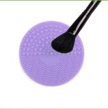 Nettoyeur à brosse de renivellement de silicones/nettoyage balai de silicones/rinicage de la forme de cercle de garniture