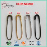 2017 Hot Sale Metal Colorful U Shaped French Safety Pin for Hung Label