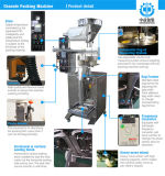 Pulsate/Peanuts/Rape Seeds/Lupin/Vigna Mungo Automatic Filling and Bag-Making Machine