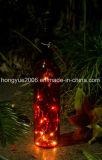 جديدة تصميم عمليّة بيع حارّة زجاجيّة مادّيّة [وين بوتّل] [10بكس] [لد] عيد ميلاد المسيح خيط ضوء
