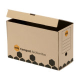 재생된 저장 서류상 포장 상자