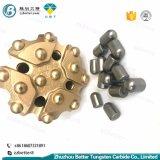 Botão de Mineração de carboneto de tungsténio de bit de perfuração de rocha