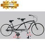 Ágil Banco Duplo bicicletas tandem elétrica da fábrica chinesa