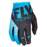 Fly Racing кинетических мужская Mx внедорожного перчатки черный/синий
