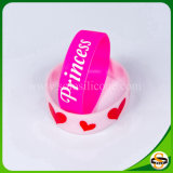 Solo rosafarbener SilikonWristband für Women