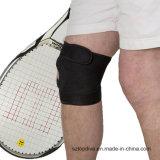 Paréntesis de rodilla respirable del neopreno de la fuente de la fábrica de China para el deporte corriente