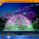 Музыкальный покрашенный фонтан воды светового эффекта