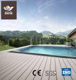 O composto de plástico de madeira elegante Deck WPC
