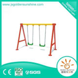 En el interior de plástico juegos con columpios Ce/Certificado ISO para los niños y los niños