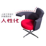 편리한 착석을%s 가진 팔 패딩을%s 가진 직물 유형 회전대 그네 의자