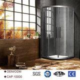 Cerco moderno do quarto de chuveiro com o vidro desobstruído feito em China