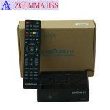 4K de bajo coste Caja de televisión por satélite DVB S2X apoyar IPTV Stalker Zgemma H9s