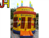 Het grappige Opblaasbare Kasteel van de Uitsmijter van de Verjaardag voor Viering