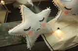 جذّابة قطيفة كرة حالة وسادة [فيف-بوينتد] نجم وسادة غرفة زخرفة وسادة