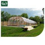 주문 색깔 크기 폴리탄산염 지붕 덮개 망원경 수영풀 덮개