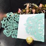 Cartões novos do papel do projeto que Wedding a impressão do cartão do convite