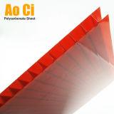 Strato del policarbonato della Multi-Parete di Rojo per Roofing&Decoration