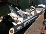 Liya 19FT costela de barco a remos luxuoso barco