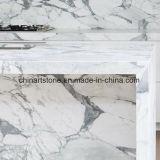 Itália bancadas em mármore branco para cozinha e casa de banho privada