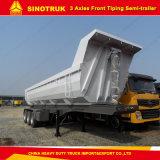 Descarga de camiones HOWO Sinotruck remolque semi remolque con la máxima calidad