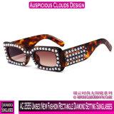 Neue Vierecks-Diamant-Einstellungs-Unisexsonnenbrillen der Form-AC-3555