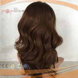 Parrucca medica anteriore dei capelli umani del merletto (PP-l-0476)