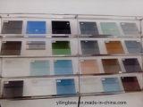 Certificado CE de vidro laminado decorativo colorido