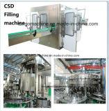 Frasco de vidro automática de água gasosa Bebidas Carbonatadas máquina de embalagem de Enchimento