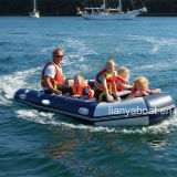 Liya 2m-6.5m Inflatable Boat PVC gold Dirty Hypalon Boat