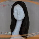 Парик бразильского фронта шнурка волос медицинского Silk верхний (PPG-l-0795)