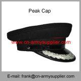 卸し売り安い中国の軍隊の緑の憲兵はピーク帽子を整備する