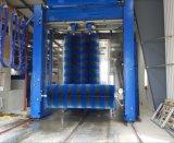 Máquina automática de la colada del omnibus con tres cepillos apacibles