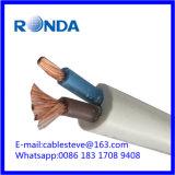 2X2.5 sqmm PVC 유연한 전기 구리 케이블