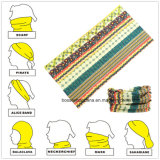 Collo magico Tubies Headwear di Microfiber del poliestere su ordinazione della stampa dei prodotti della fabbrica