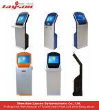 17/19/22/32/43/49/55/65 kiosque d'écran tactile de paiement de service d'individu de mail