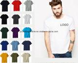 T-shirts bon marché de blanc chaud de vente