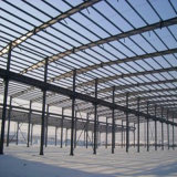 Estructura de acero galvanizado en caliente del estadio de Manufactura China con una buena calidad