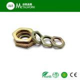 Noix Hex galvanisée galvanisée d'encombrement légèrement (DIN439)