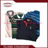 Vêtement utilisé triant des fournisseurs de ventes