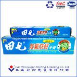 Упаковка бумаги для печати окна предназначены для зубной пасты