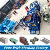 중국 제조의 벽돌 기계를 포장하는 고품질 유압 색깔
